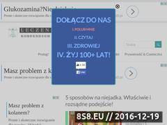Miniaturka domeny www.leczeniepro.pl