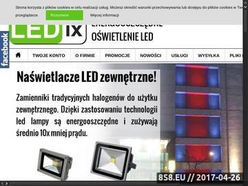 Zrzut strony Taśmy i żarówki LED: Poznań oświetlenie, sprzedaż hurtowa i detaliczna