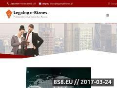Miniaturka Usługi prawne dla e-biznesu (www.legalnyebiznes.pl)