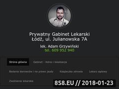 Miniaturka lekarz-wizyty.pl (Badania na prawo jazdy kierowców A, B Łódź)