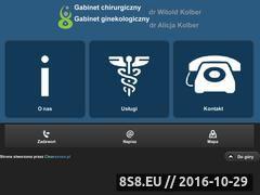 Miniaturka domeny www.lekarze-kolber.pl