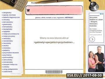 Zrzut strony Informacja medyczna - lekarze Lublin