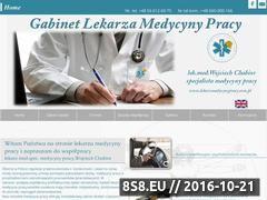 Miniaturka domeny lekarzmedycynypracy.com.pl