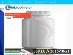 Miniaturka domeny leki-opinie.pl