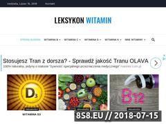 Miniaturka leksykonwitamin.pl (Wszystko o witaminach)