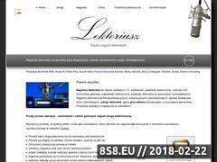 Miniaturka lektoriusz.pl (Nagrania lektorskie)