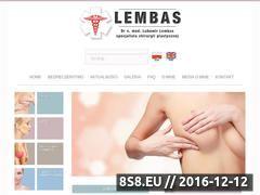 Miniaturka domeny www.lembas.pl