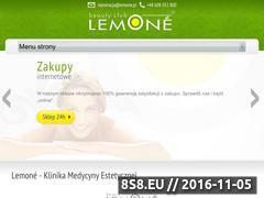 Miniaturka domeny www.lemone.pl