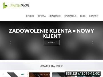 Zrzut strony Projektowanie stron Wrocław