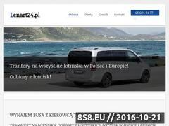 Miniaturka domeny lenart24.pl