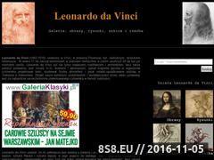 Miniaturka domeny leonardo-da-vinci.pl
