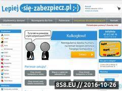 Miniaturka domeny lepiej-sie-zabezpiecz.pl