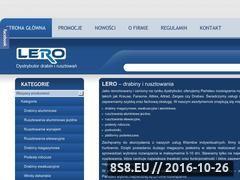 Miniaturka domeny www.lero.com.pl