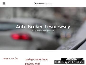 Zrzut strony Sprowadzanie samochodów z Niemiec