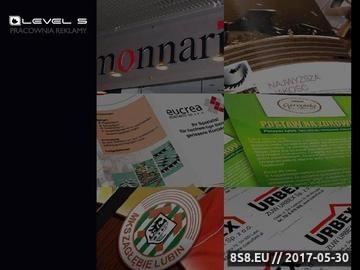 Zrzut strony LEVEL5 Lubin, Kompleksowe usługi informatyczne dla firm i przedsiębiorstw. Tworzenie stron www, Pozycjonowanie