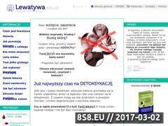 Miniaturka lewatywa.edu.pl (Wortal o oczyszczaniu organizmu lewatywą)
