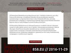 Miniaturka domeny www.lex-kancelaria.pl