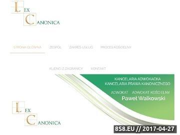 Zrzut strony Sąd metropolitalny w Katowicach