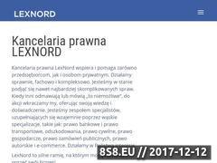 Miniaturka domeny lexnord.com