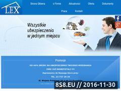 Miniaturka domeny lexubezpieczenia.pl