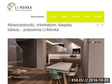 Zrzut strony Nowoczesne wnętrza Kraków