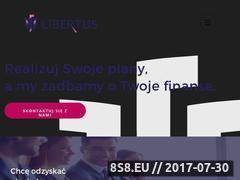 Miniaturka libertus.com.pl (Skup długów oraz windykacja należności)
