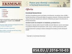 Miniaturka domeny www.licytacje-eksmisje.pl