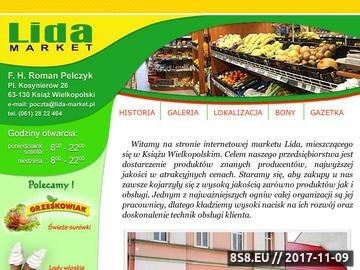 Zrzut strony Lida-Market - Książ Wielkopolski