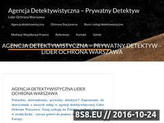 Miniaturka domeny www.lider-ochrona.pl