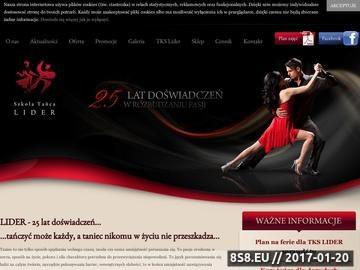 Zrzut strony LIDER - obozy taneczne