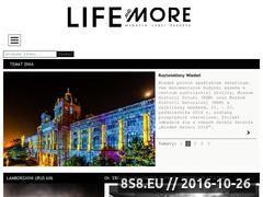 Miniaturka domeny www.lifeandmore.pl
