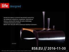 Miniaturka domeny www.lifedesigned.eu