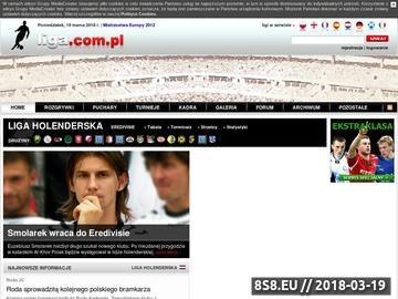 Zrzut strony Eredivisie - footballclub.pl