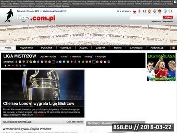 Zrzut strony Liga Mistrzów - footballclub.pl
