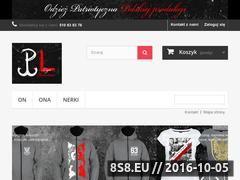 Miniaturka domeny ligapatriotow.pl