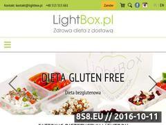 Miniaturka www.lightbox.pl (Catering dietetyczny)