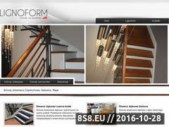 Miniaturka domeny www.lignoform.pl