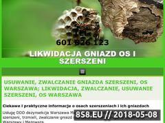 Miniaturka likwidacja-gniazd-os-szerszeni.com (Likwodacje szerszeni)