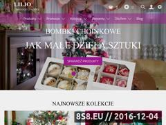 Miniaturka domeny www.lilio.pl