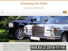 Miniaturka domeny limuzynydoslubu.com.pl