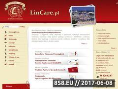 Miniaturka domeny www.lincare.pl