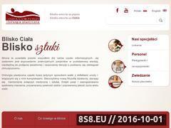 Miniaturka domeny www.lineacorporis.pl