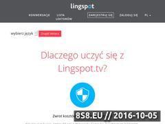 Miniaturka lingspot.tv (Sposób na efektywną naukę języków obcych)