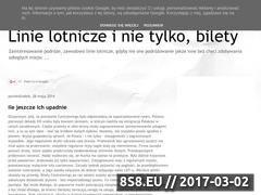 Miniaturka domeny linielotnicze.blogspot.com
