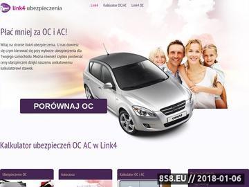 Zrzut strony Link4-Ubezpieczenia.pl - ubezpieczenia OC