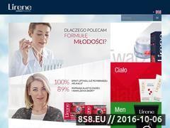 Miniaturka Kosmetyki, moda, uroda oraz styl (www.lirene.pl)
