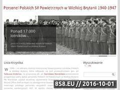 Miniaturka listakrzystka.pl (Personel Polskich Sił Powietrznych w W. Brytanii)