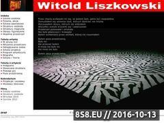 Miniaturka domeny liszkowski.witold.artwroc.com