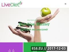 Miniaturka livediet24.com (Diety dla każdego)