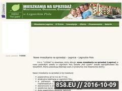 Miniaturka www.lizena.pl (Deweloper <strong>legnica</strong> - Lizena)